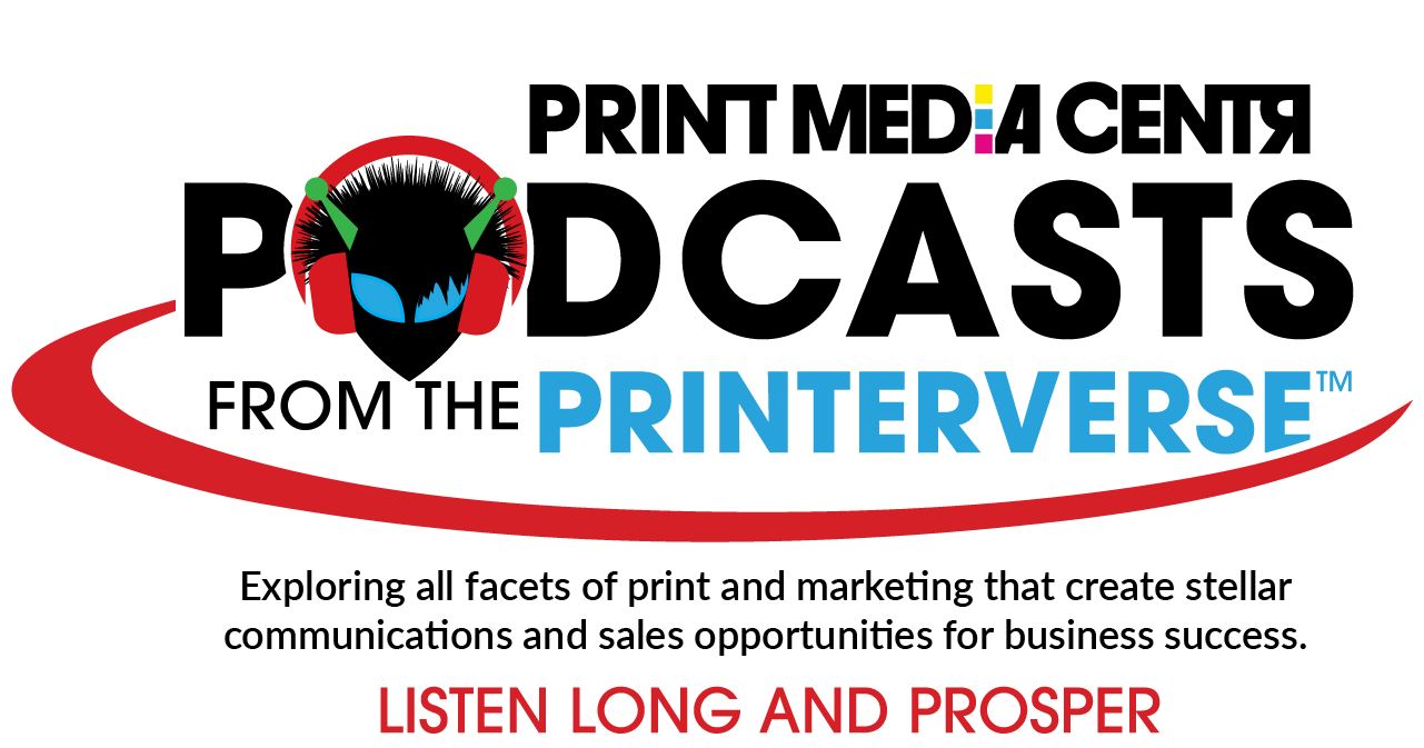 a podcast about print and marketing